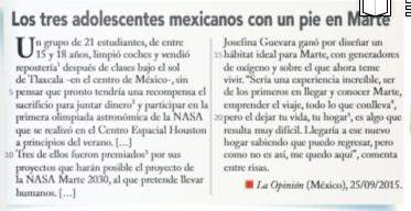 J'aurais besoin d'aide pour une compréhension de texte en espagnol. question :