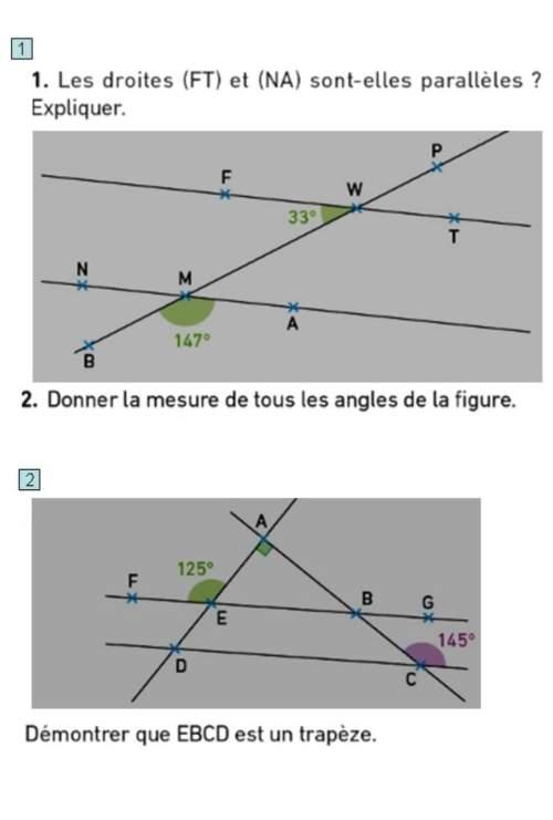 Pouvez-vous m'aider svp pour mon exercice de math 