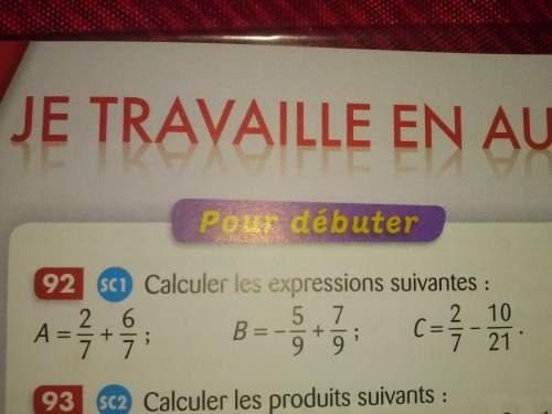 Atous , pouvez vous m'aider a faire mes exercice de mathématique; d'avance je vous en
